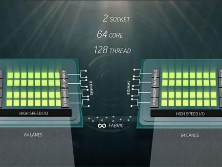 """Ο νέος επαγγελματικός επεξεργαστής της AMD, """"Naples"""", είναι ένα τέρας 32 πυρήνων"""