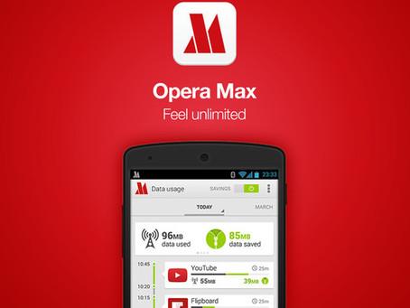 Τερματίστηκε η υποστήριξη του Opera Max για Android που καταργήθηκε και από το Google Play