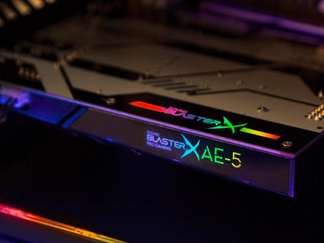 H Creative ανακοίνωσε τη νέα gaming κάρτα ήχου Sound BlasterX AE-5