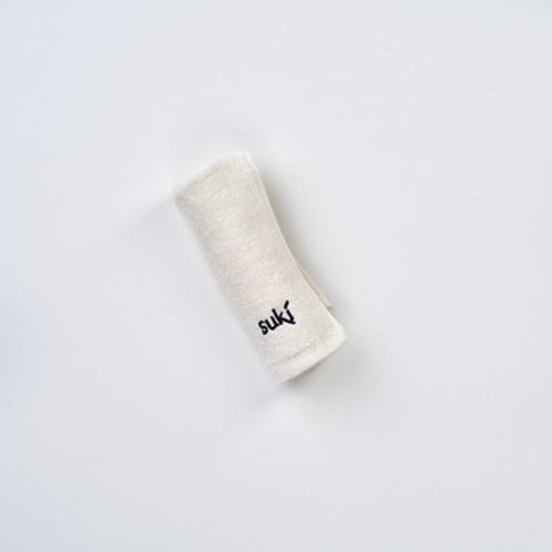 100 % Organic Cotton Wash Cloth - Suki Skincare
