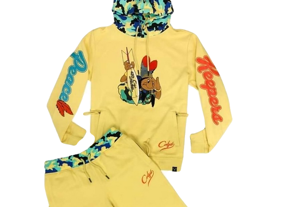 PEACE KEEPER PULLOVER + JOGGER SET