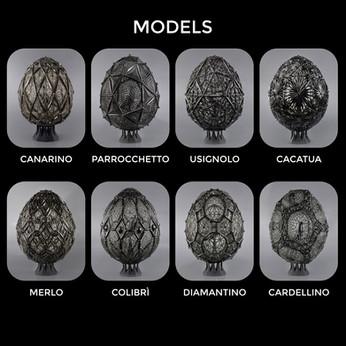 Modelli in vendita