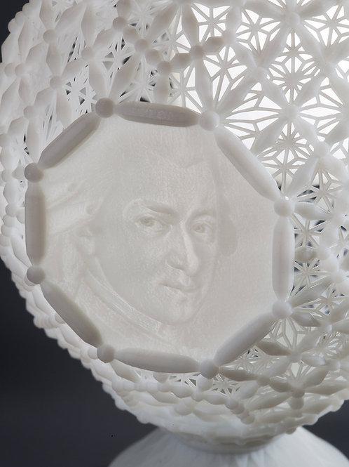 """EasterEgg Lanterna """"Mozart e Beethoven"""""""