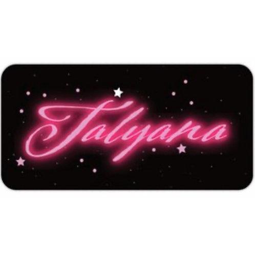 """Talyana"" Limited Edition FREE Sticker"