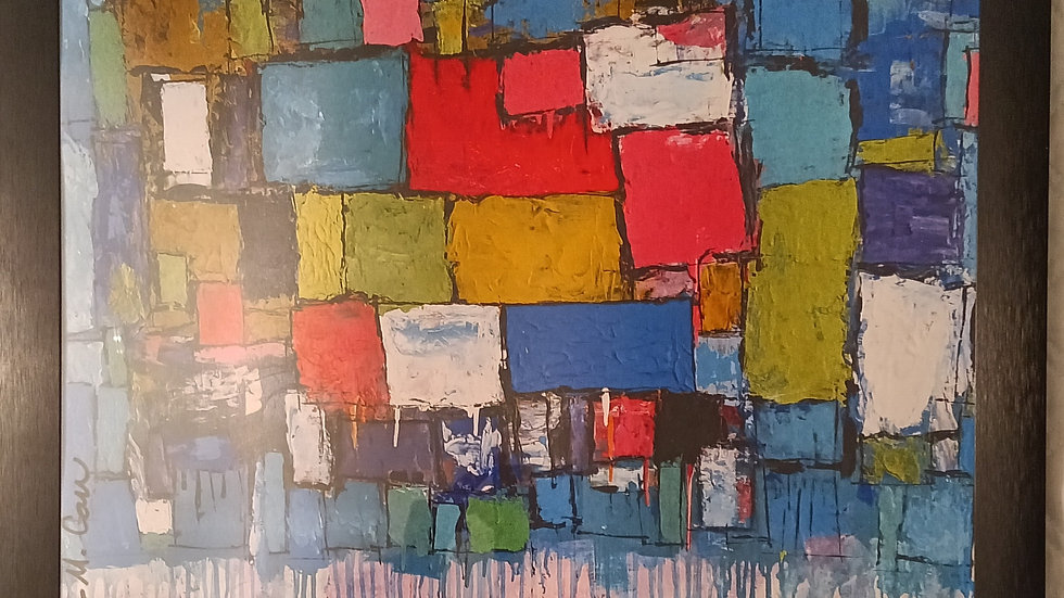 Original Print- Patchwork Series-OUT OF STOCK