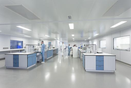 Laboratium biotech bedrijf