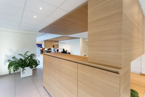 Interieur boekhoudkantoor