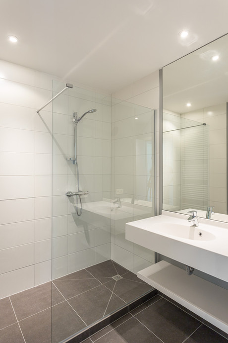 Badkamer vastgoedproject Eeklo