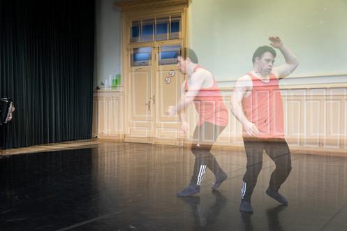 Repetitie dansvoorstelling Platform-K