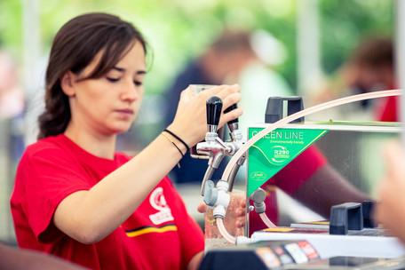 Watertap op festival