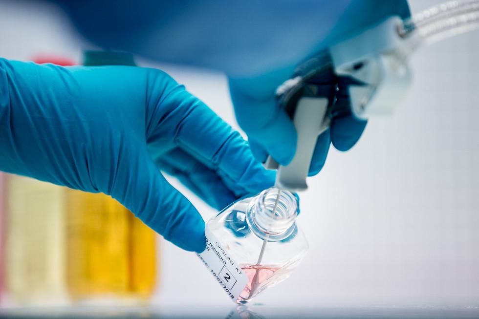 Steriliteitstest biotech