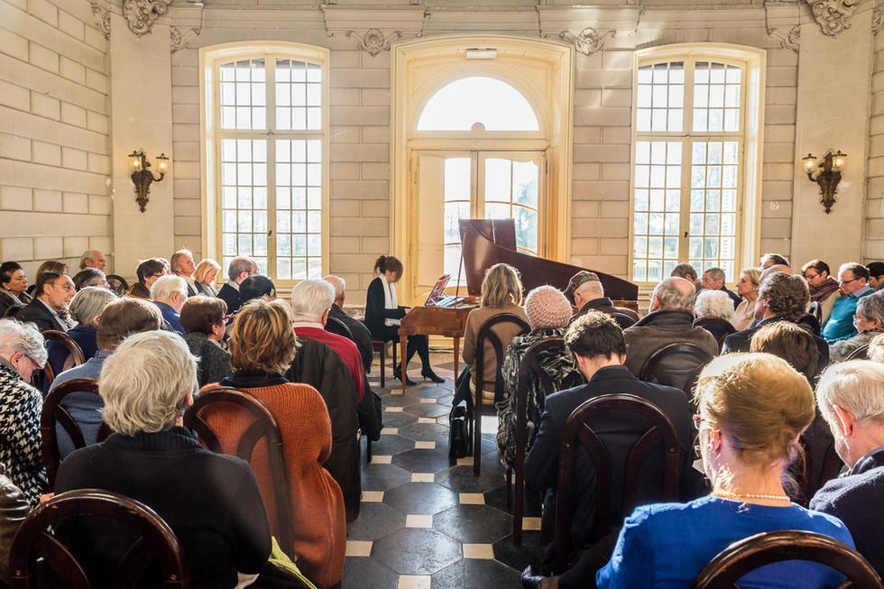 Piano concerto in Kasteel Van Poeke