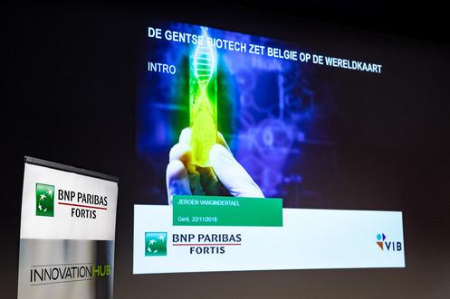 Klanten event van BNP Paribas Fortis