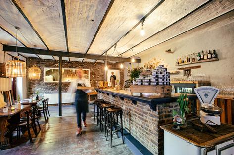 Interieur restaurant Sint-Martens-Voeren