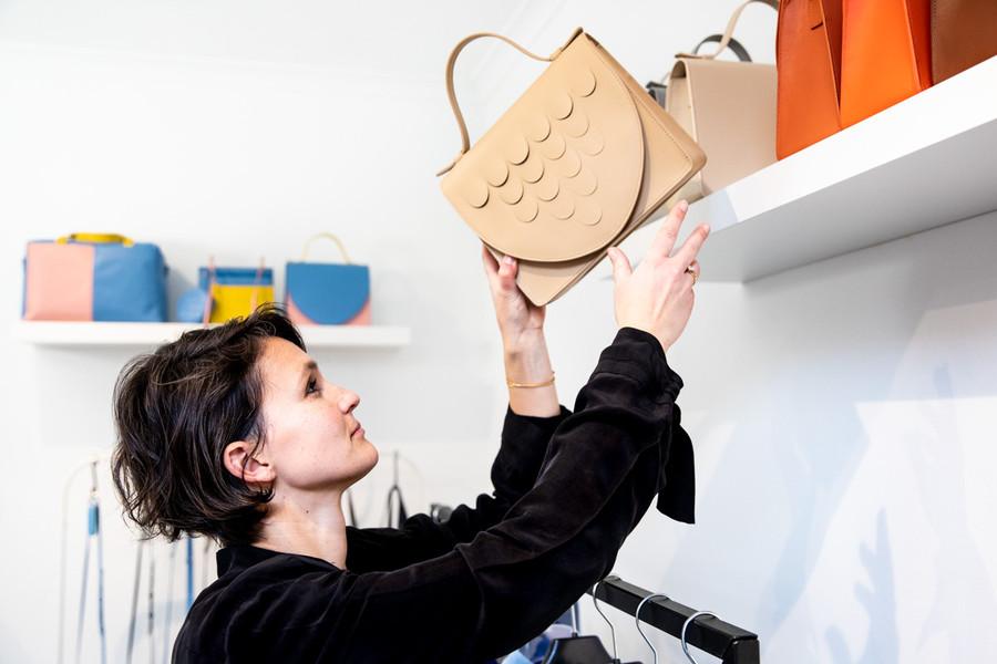 Mieke Dierckx handtassenontwerper