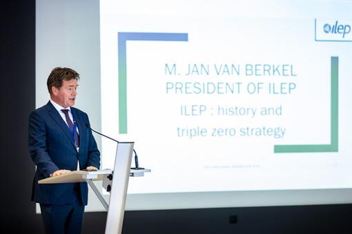 Jaarlijkse vergadering ILEP in Brussel