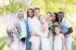 Hochzeit genießen