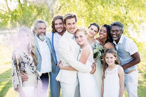 Atire foto do casamento