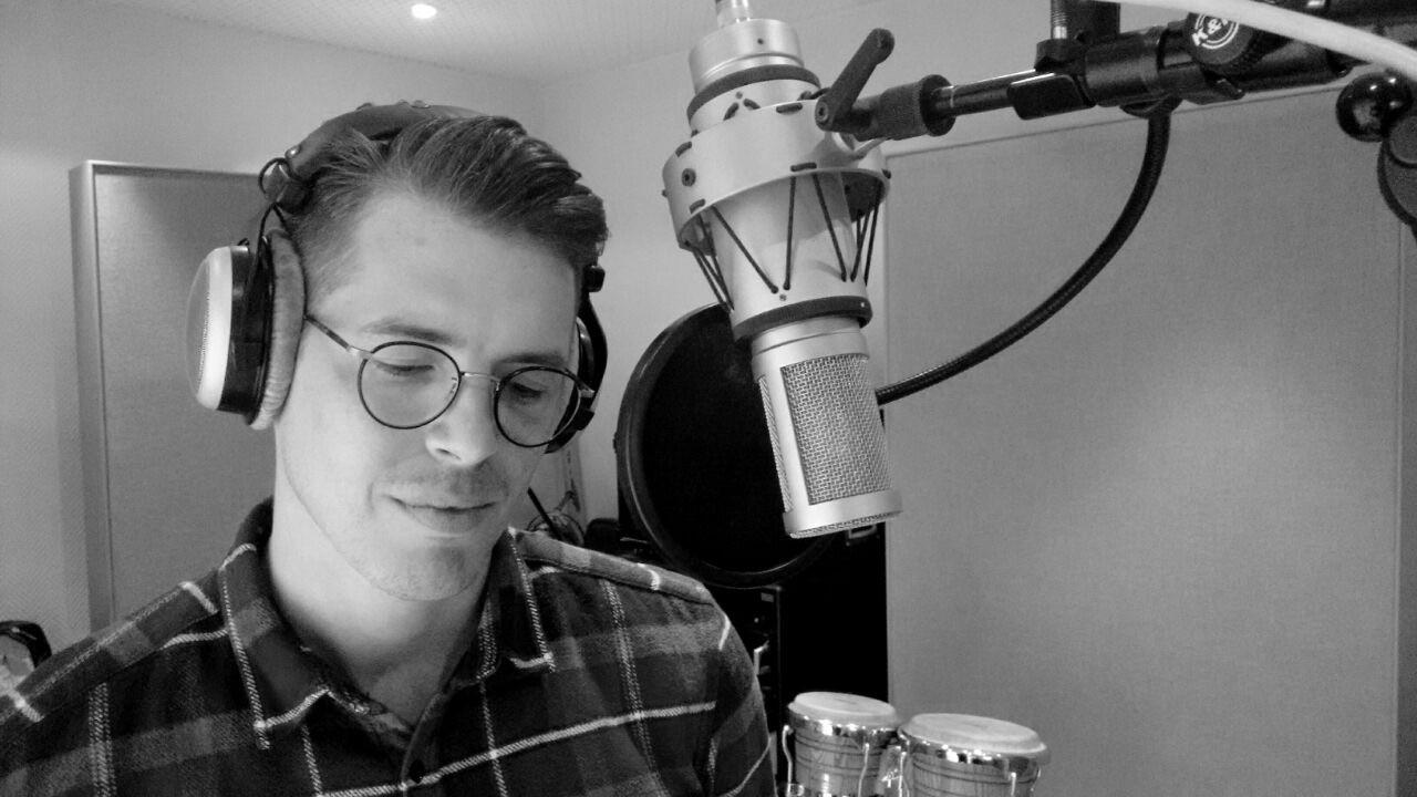 Chris im Studio