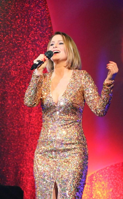 Denise auf der Bühne