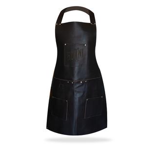 Leather kitchen apron