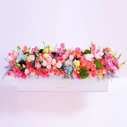 Caja flores mixtas