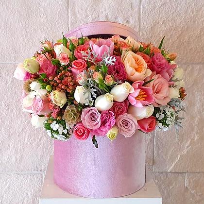Caja flores sorpresa