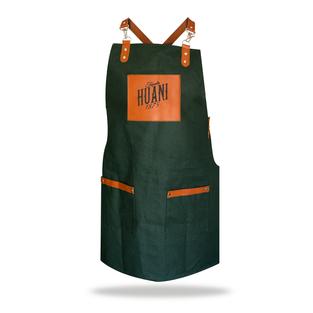 Crossed apron green