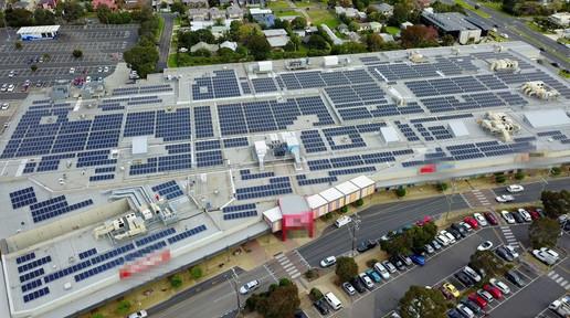 Rosebud Plaza Solar PV