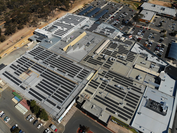 Lansell Square Solar PV Project