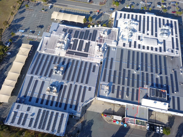 Bribie Island Shopping Centre Solar PV Project