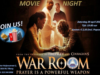 Movienight | War room 29 april 2017