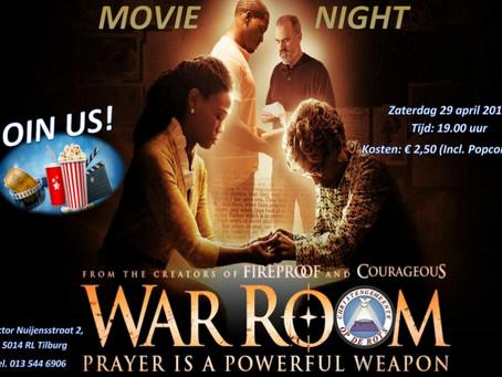 Movienight | War room 29 april 2017