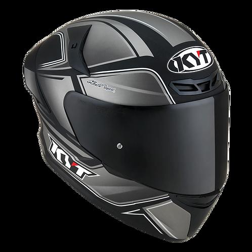 KYT Helmet TT-Cours Matt COOL GRAY