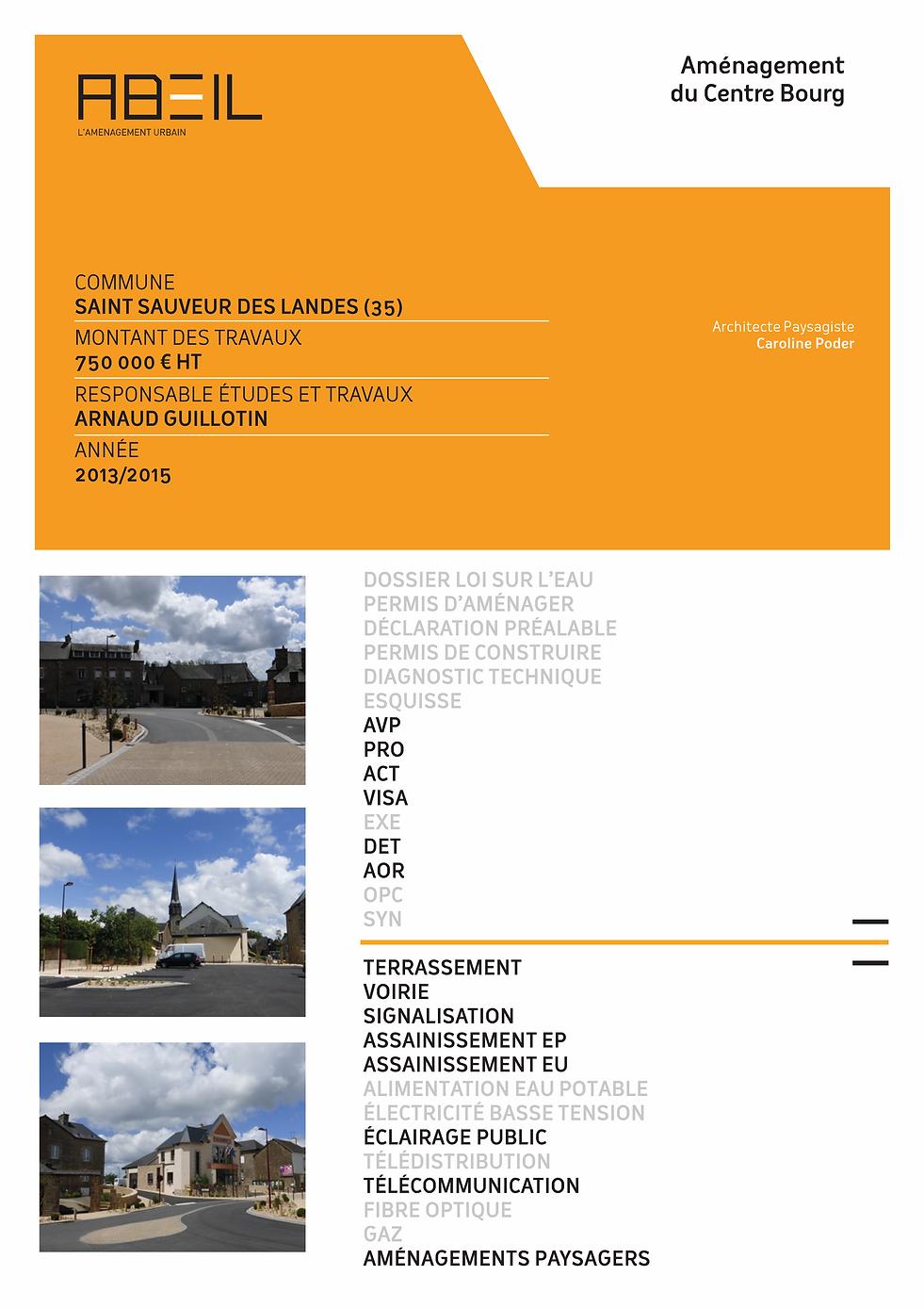 Abeil, Bureau d'étude en aménagement, VRD et SIG à Rennes