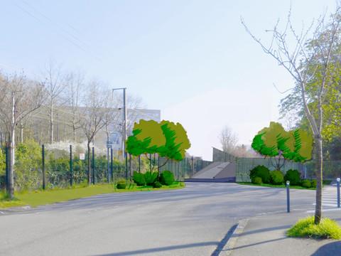 Ville de RENNES - Square de la Touche
