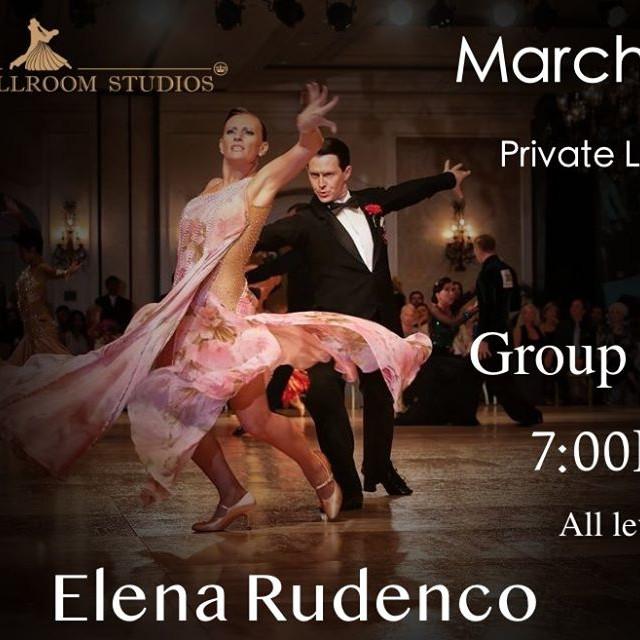 Group Class with Elena Rudenko