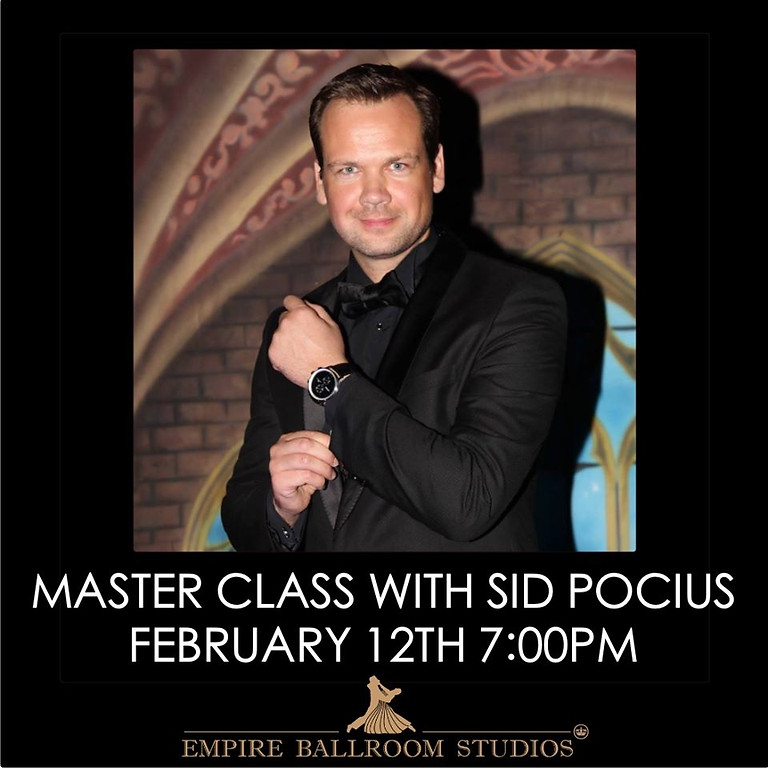 Master Group Class with Sid Pocius