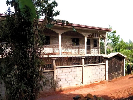 Errichtung Kinderheim in Kamerun