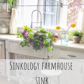 NEW FARMHOUSE SINK FROM @SINKOLOGY