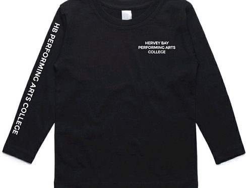 Black Dance Uniform Crew Neck