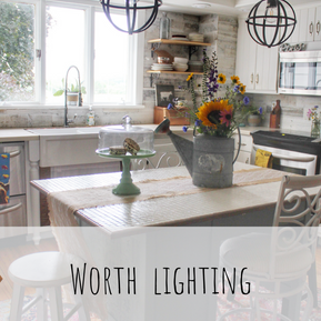 BRIGHTEN YOUR SUMMER WITH WORTH LIGHTING