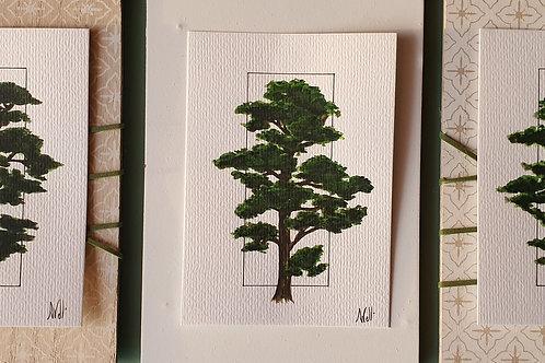 Pins aquarelle l'unité (10×15)