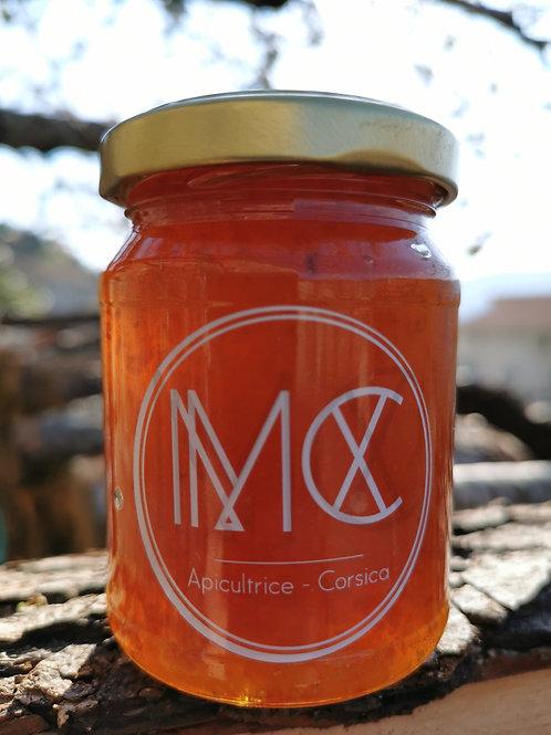 BOCCA - Marmelade d'orange amère corse, miel corse AOP & thé Earl Grey - 150g