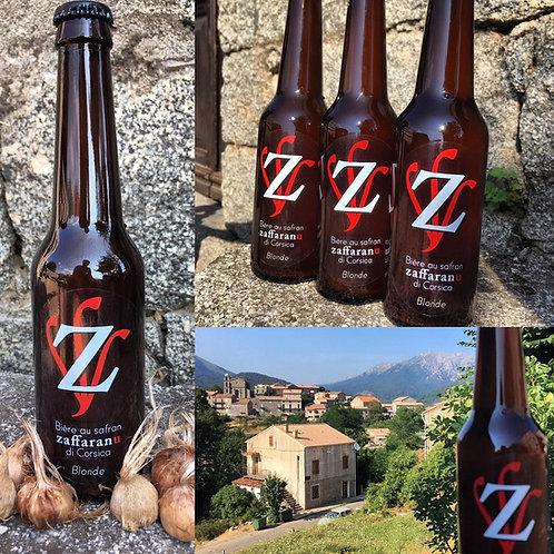 """BOCCA - Bière au safran """"Zaffaranu bio"""" 3x33 cl"""