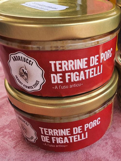 ANDREUCCI - Terrine de porc figatelli