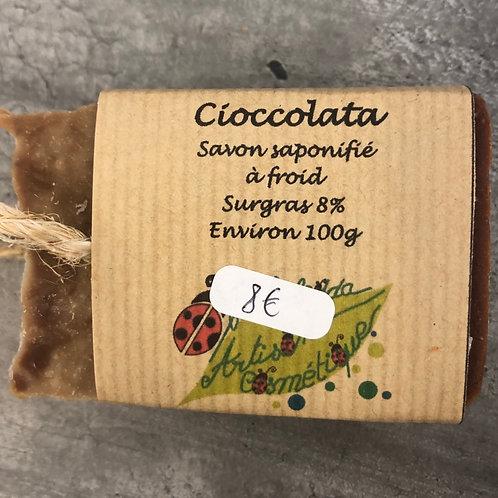 Savon surgras au chocolat Bulabuledda
