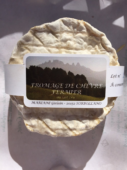 Fromage fermier chèvre Mariani