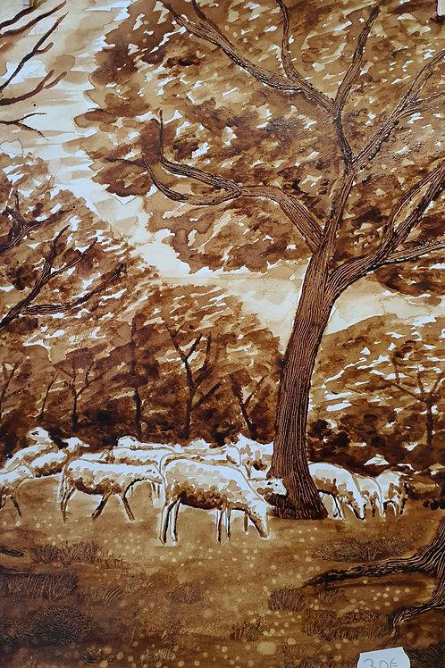 Peinture au café ( original)