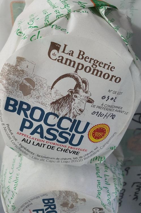 LA BERGERIE DE CAMPOMORO - Brocciu passu de chèvre 300/400g